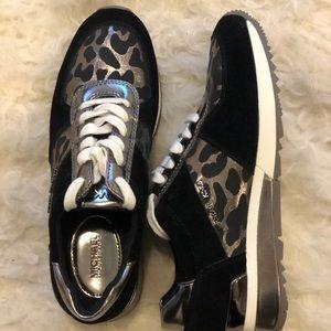 MK Michael Kors leopard sneakers size 6.5